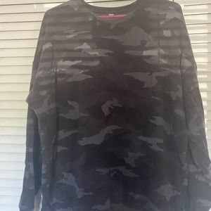 Athleta Camo sweatshirt